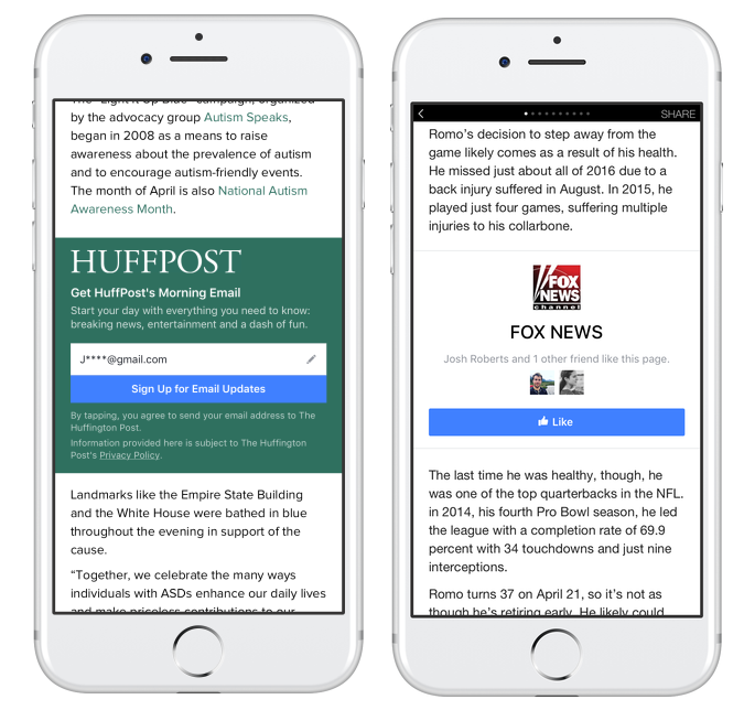Facebook's Adding Publisher Logos to News Links to Reduce the Reach of Misleading News | Social Media Today