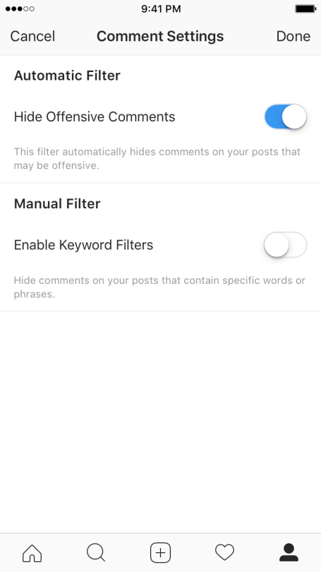 Instagram's Rolling Out New Tools to Remove 'Toxic Comments' | Social Media Today