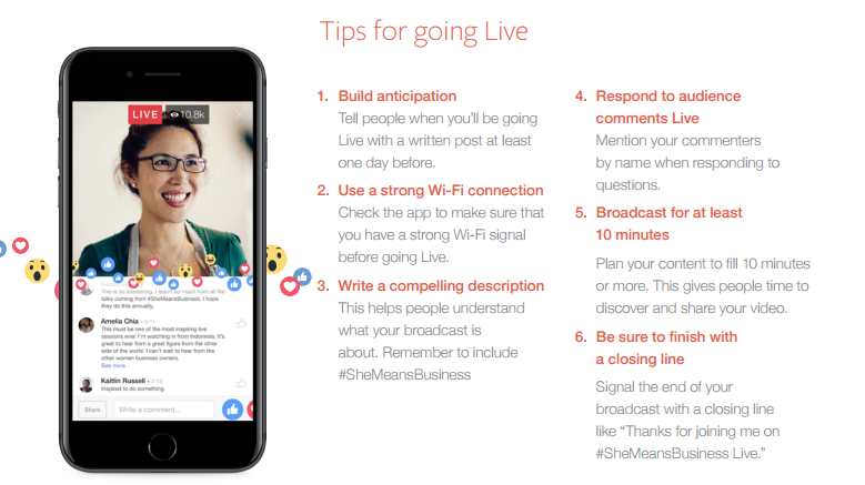 Facebook Launches New Live Video Push for International Women's Day | Social Media Today