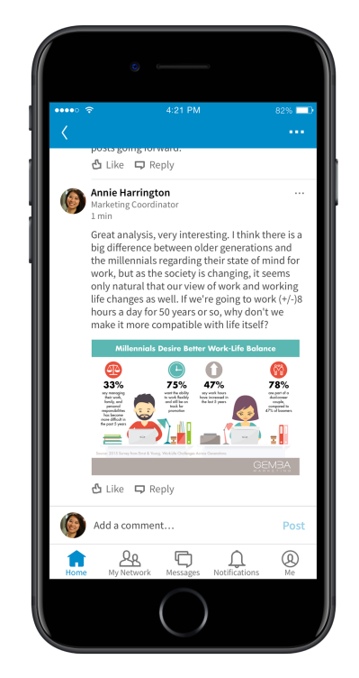 LinkedIn Adds Images in Comments, New Opportunities for Job Listings   Social Media Today