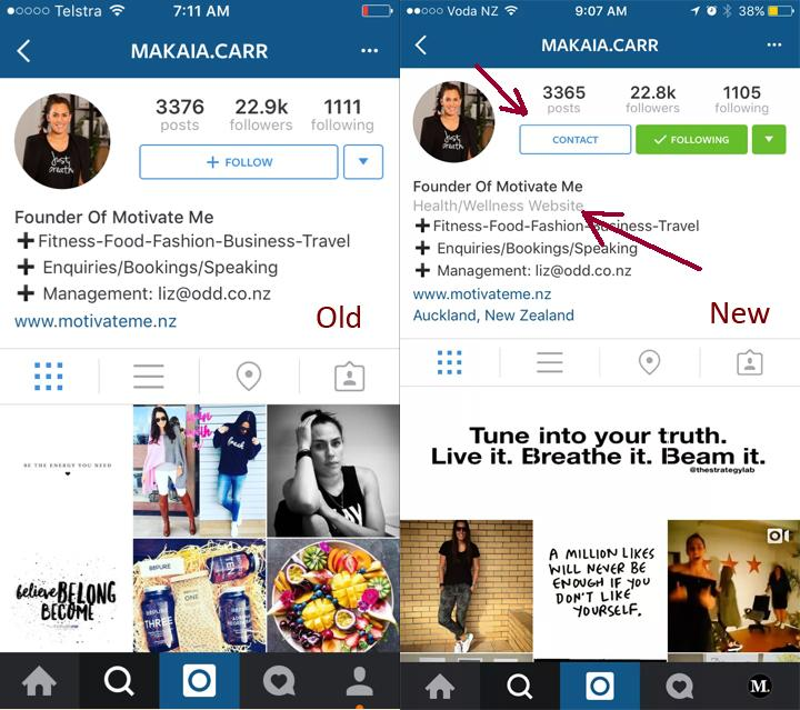 Instagram Brand Profiles are Coming - Here's a First Look | Social Media Today