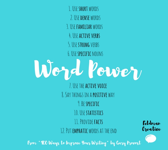 12 Word Power Pointers for Writing Marketing Content | Social Media Today