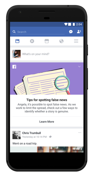 Facebook Continues Battle Against Fake News with New Educational Resource | Social Media Today