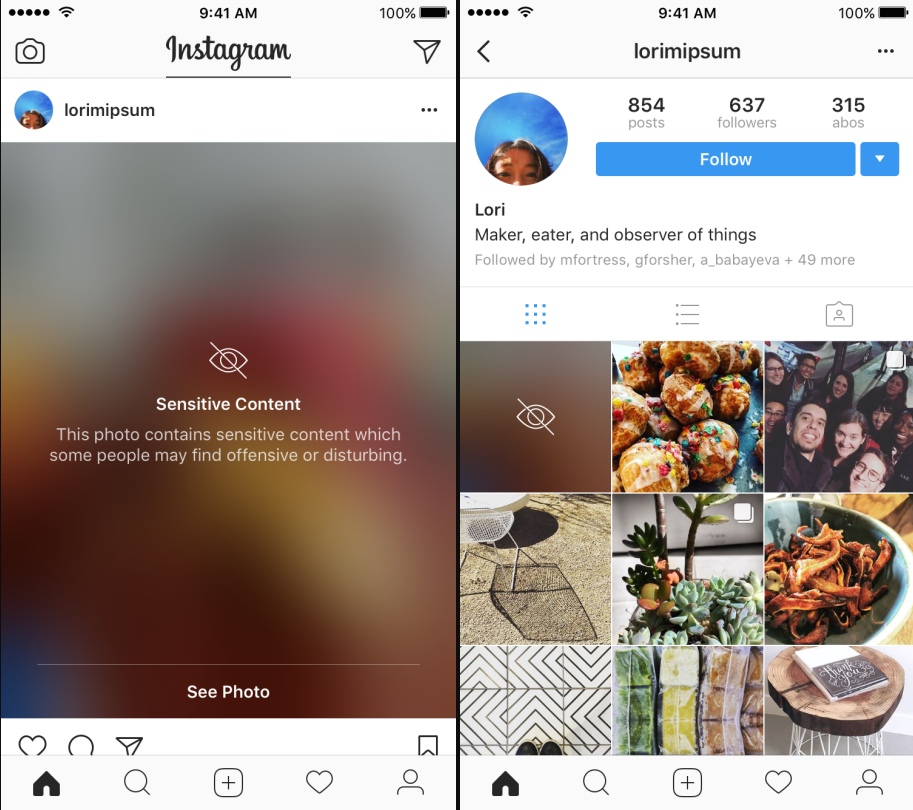 Instragram Rolls Out New Sensitive Content Filter Tool, New Safety Measures | Social Media Today