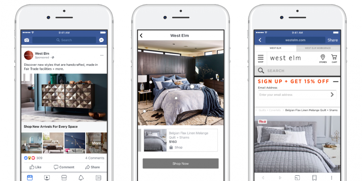 Facebook's Launching a New Ad Format, Based on Catalogues | Social Media Today