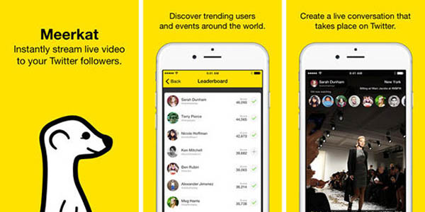 Meerkat Reawakens as 'Houseparty', a Multi-Participant Live-Stream App | Social Media Today