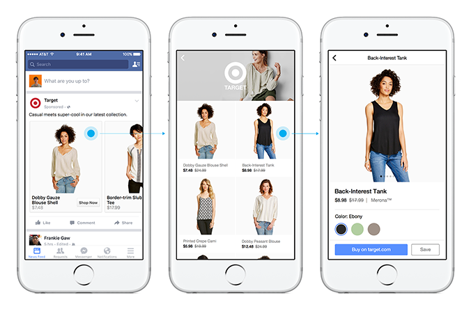 Facebook Rolling Out Immersive 'Canvas' Ad Option to All Advertisers | Social Media Today
