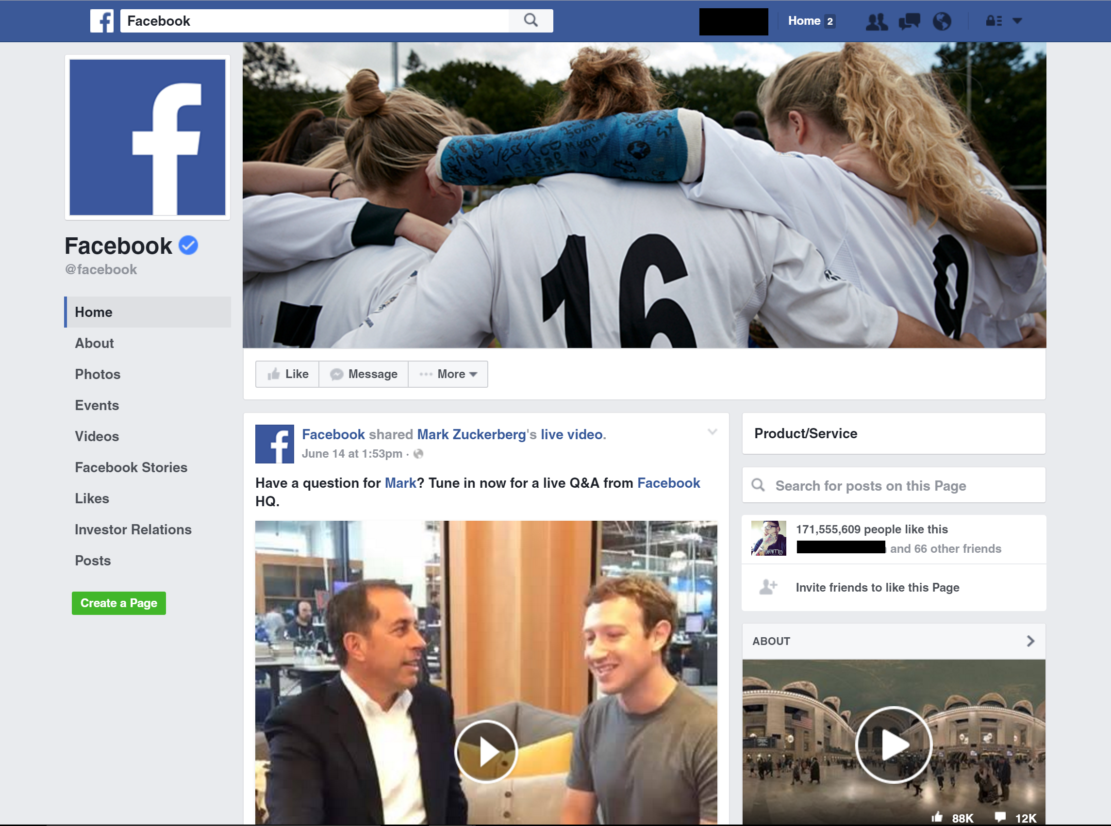 Facebook's Testing a New, Ad-Free Desktop Page Layout | Social Media Today