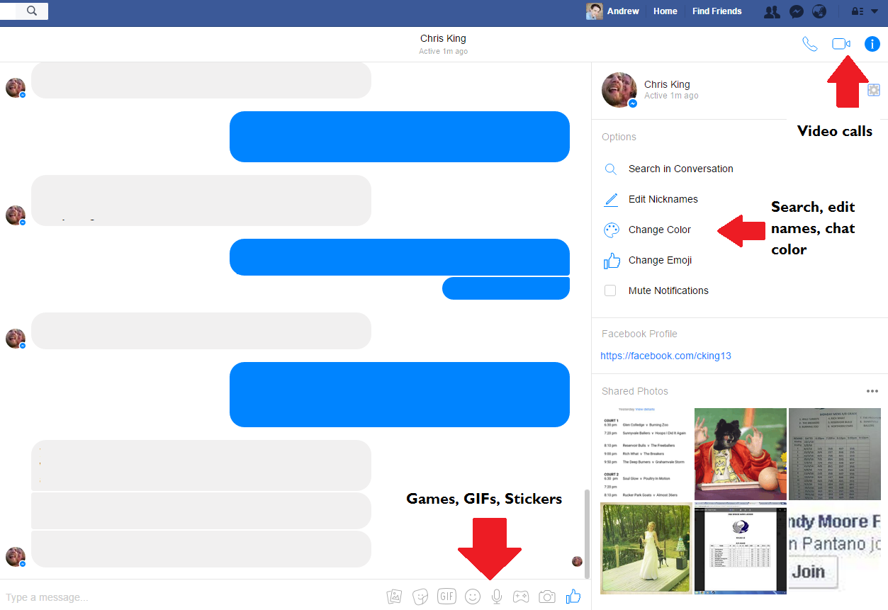 Facebook Updates Desktop Messaging Inbox, Deepens Connection to Messenger | Social Media Today