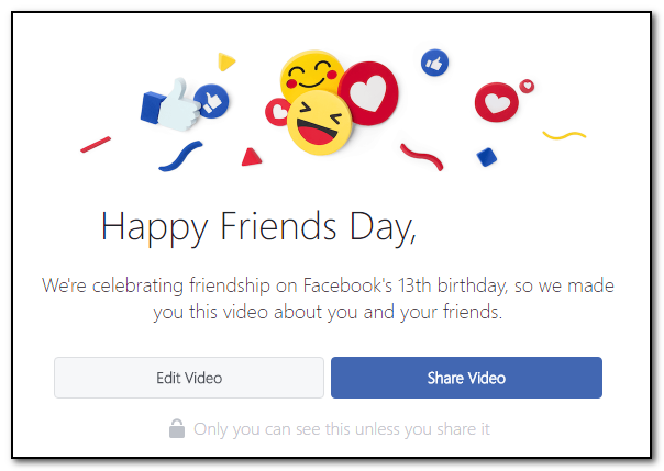 Facebook Adds New Tools to Celebrate the Platform's 13th Birthday | Social Media Today
