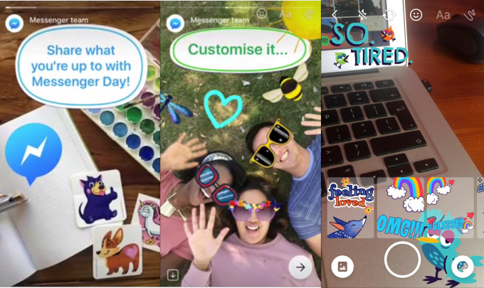 Facebook's Testing New Snapchat-like Features for Messenger | Social Media Today