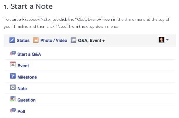 Facebook Promotes the New Facebook Notes - A Valid Blogging Option? | Social Media Today