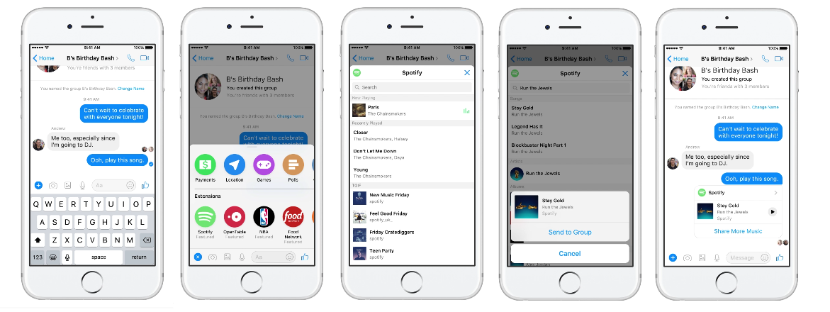 Facebook Announces New Messenger Tools at F8, with a Focus on Bots | Social Media Today