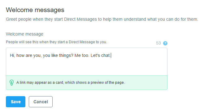 Twitter Adds New Customer Response Tools to DMs | Social Media Today