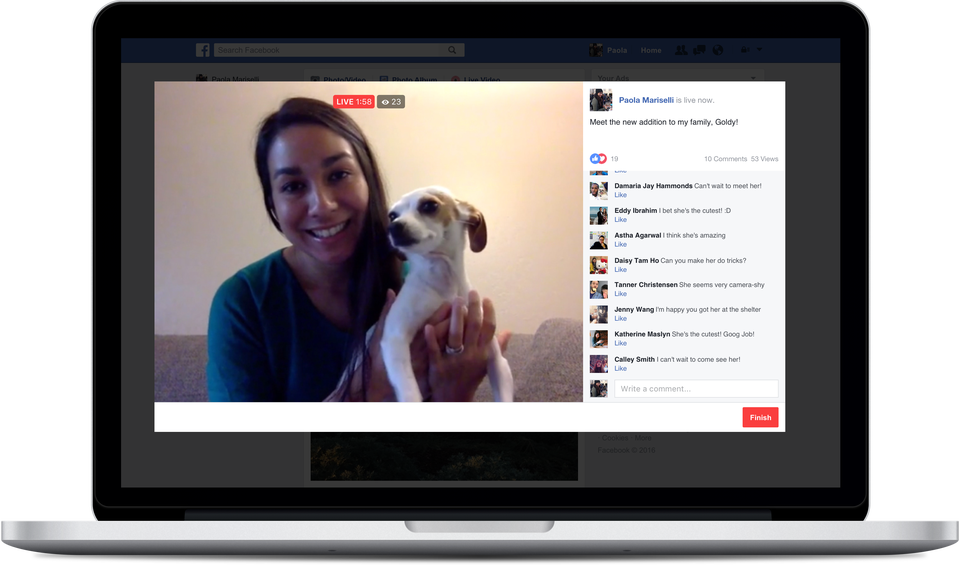 Facebook Announces that Anyone Can Now 'Go Live' via Desktop - with a Focus on Gamers | Social Media Today