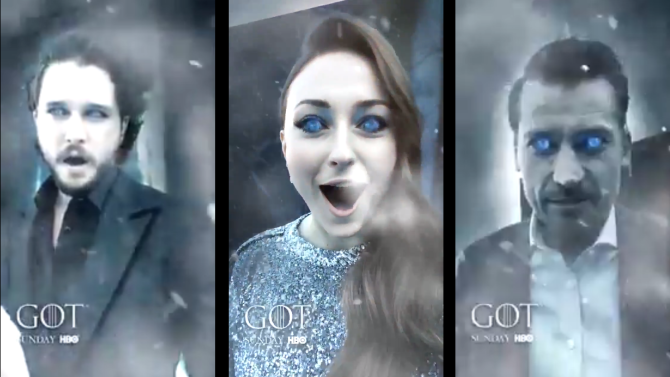 Facebook's 'Game of Thrones' Video Mask Outshines Similar Campaign on Snapchat | Social Media Today