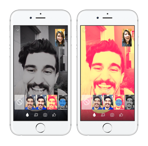Facebook Adds New Tools and Visual Effects to Messenger Video Chats | Social Media Today
