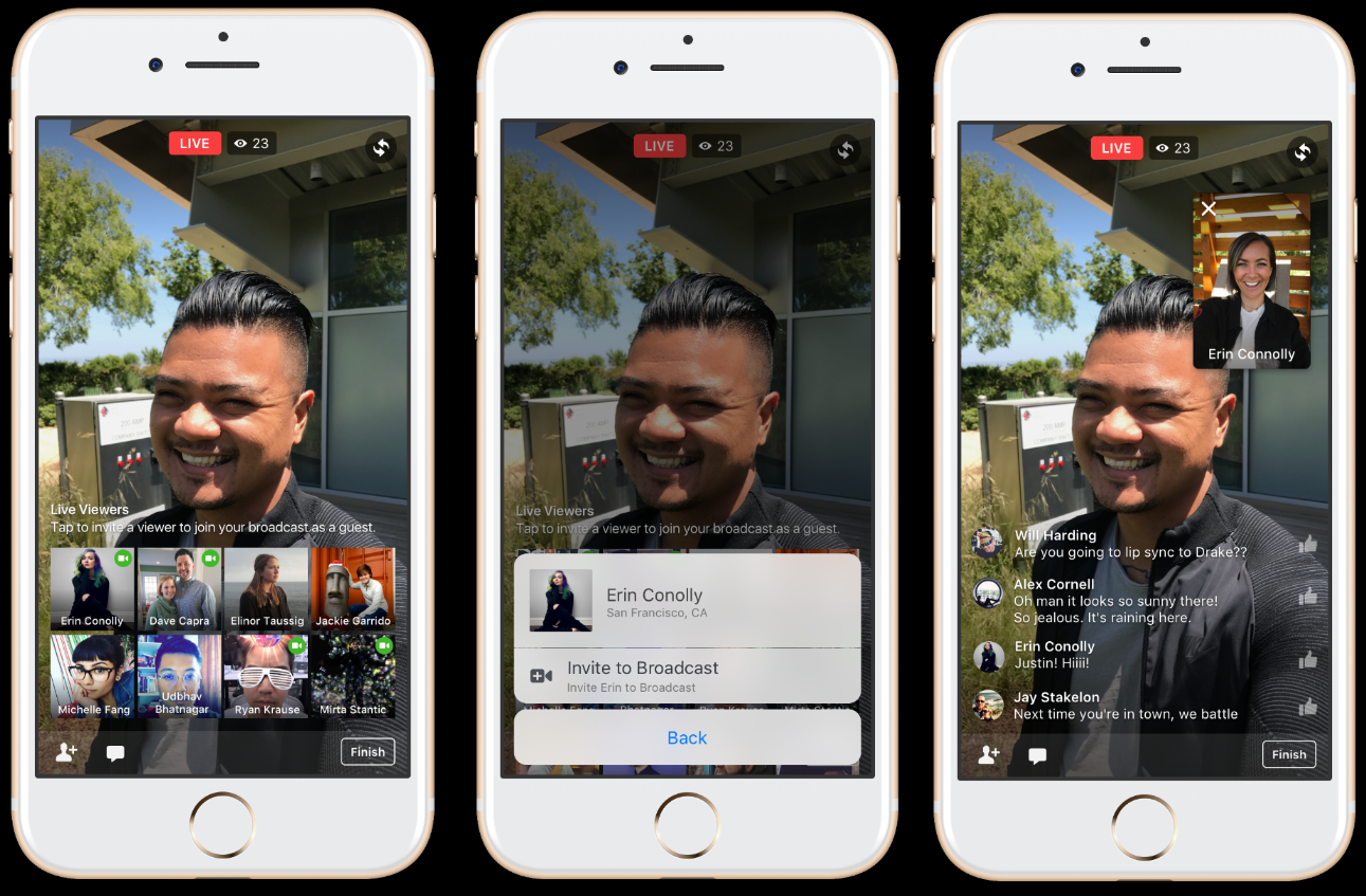Facebook Adds New Features to Facebook Live, Including In-Stream Chat and Live Guests | Social Media Today