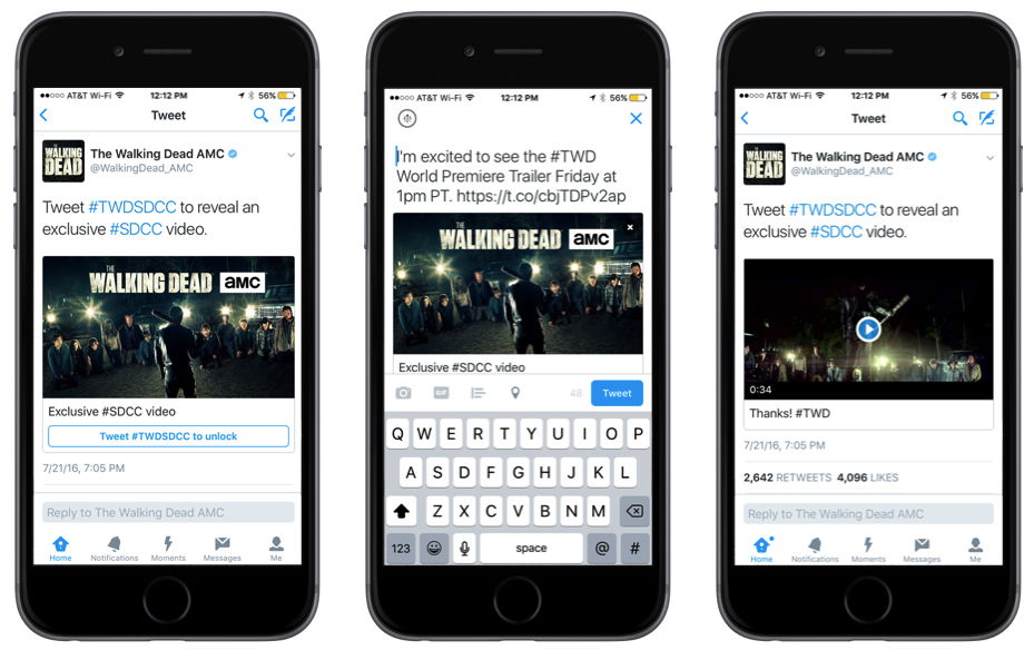Twitter Launches 'Instant Unlock' Ad Option to Boost Ad Reach and Response | Social Media Today