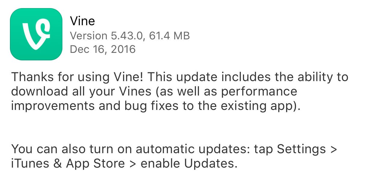 Vine Confirms the End is Nigh, Transitioning into New 'Vine Camera' App | Social Media Today