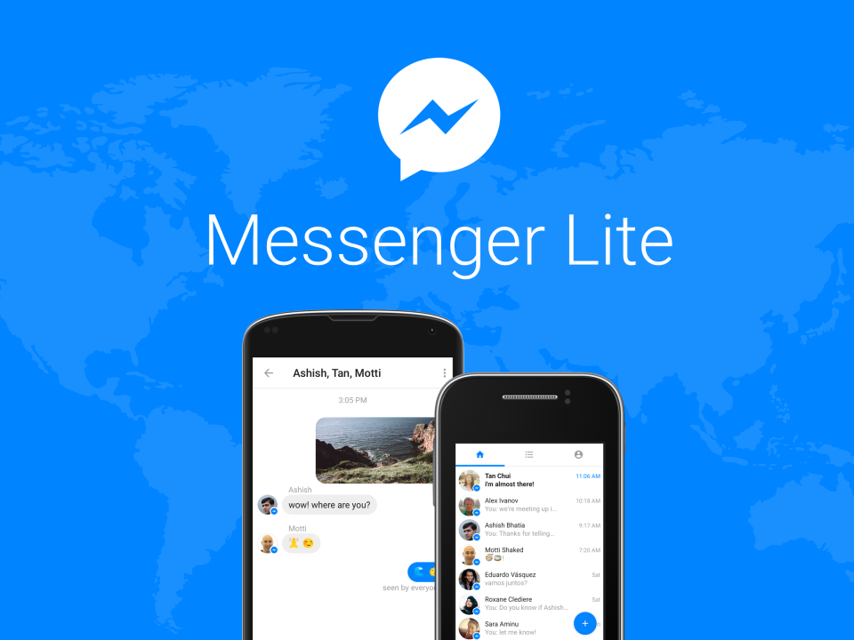 Facebook Launches 'Messenger Lite' to Provide Access to More Regions   Social Media Today