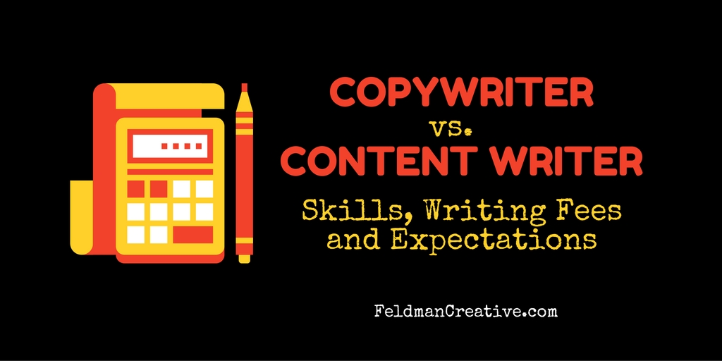 Copywriter vs. Content Writer: Skills, Writing Fees and Expectations | Social Media Today