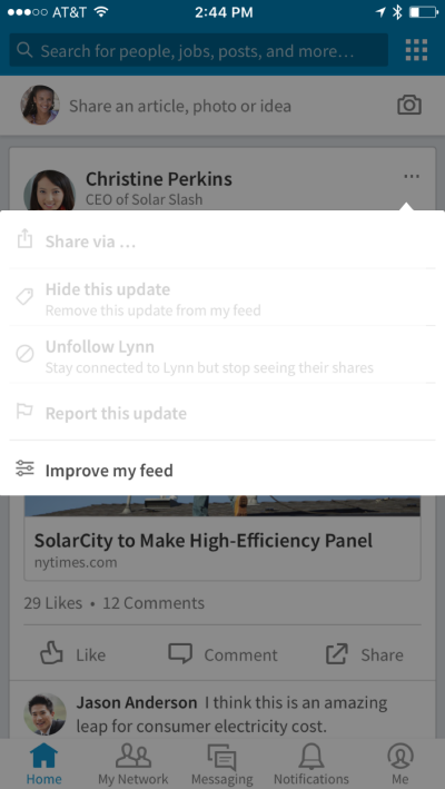 How to Stand Out in LinkedIn's Updated News Feed