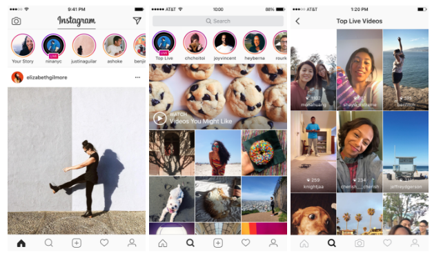 Instagram Adds Live-Streaming, Disappearing Messages | Social Media Today