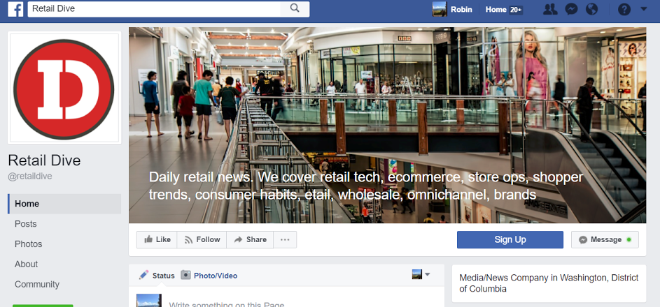 Facebook's Testing a New Option to Add Text to Cover Photos on Pages | Social Media Today