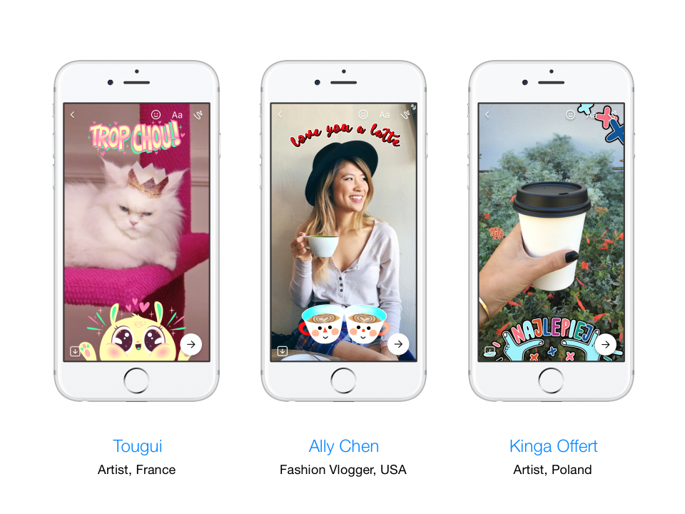 Facebook Launches New Camera Tools for Messenger, Including Masks, Frames and More