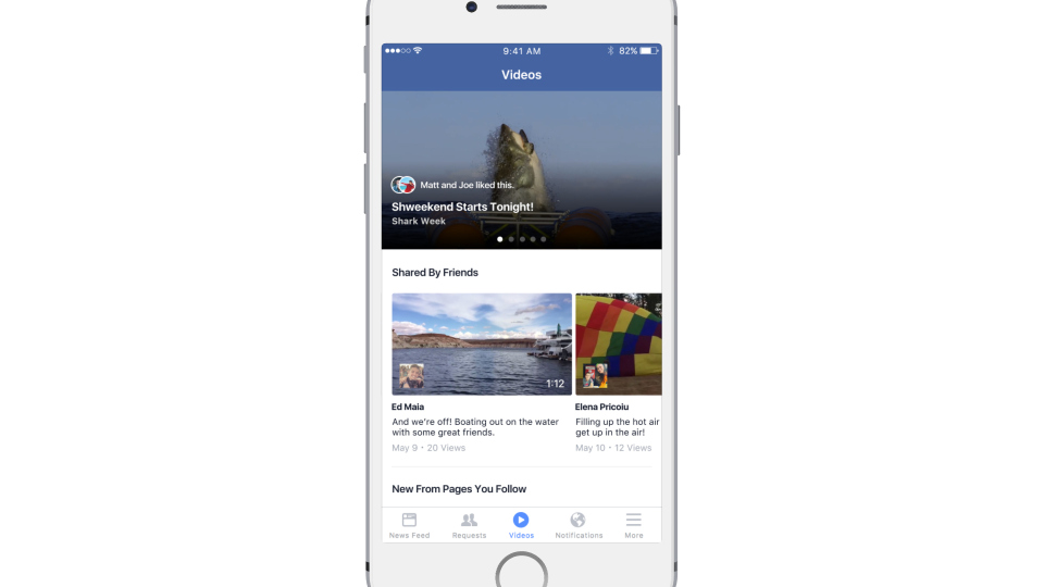 Facebook Reveals its Planned Video Discovery Platform - a YouTube Killer? | Social Media Today