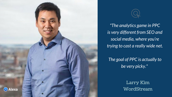 ppc analytics Larry Kim