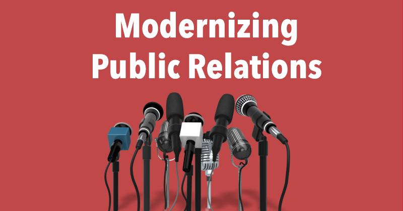 Modernizing Public Relations via BrianHonigman.com