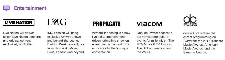 Twitter Entertainment Partners