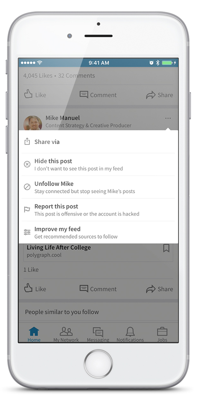 3 Simple Tips to Improve Your LinkedIn News Feed (from LinkedIn)                      | Social Media Today