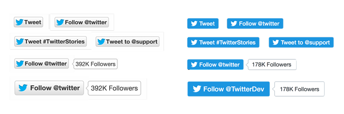 Twitter Switching Off Share Counts in Change to Tweet and Follow Buttons   Social Media Today