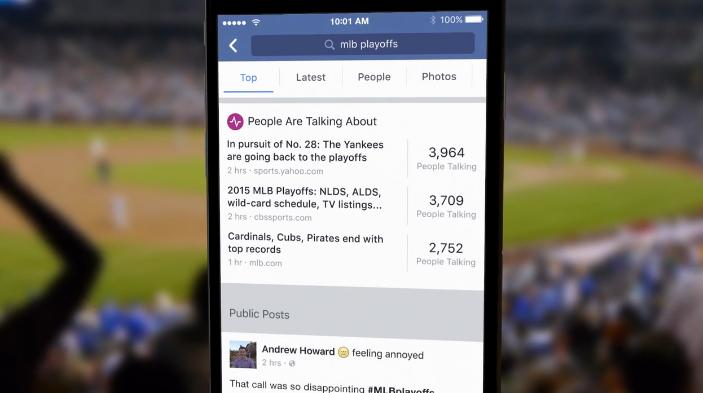 Facebook Upgrades Search, Improves Discovery of Real-Time News and Conversation | Social Media Today
