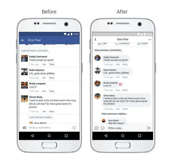 Facebook Updates News Feed Layout to Improve On-Platform Engagement | Social Media Today