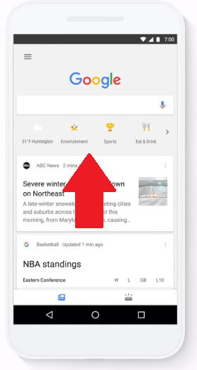Google Adds New 'One-Tap' Search Options to the Google App | Social Media Today