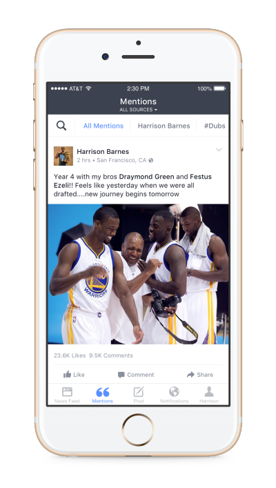 Facebook Announces Update to Live-Streaming, Mentions App | Social Media Today
