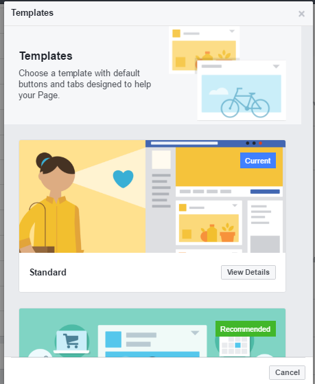 Facebook Testing Business Page Templates | Social Media Today