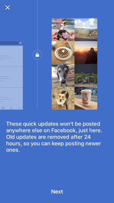 Facebook Testing New, Snapchat-Like