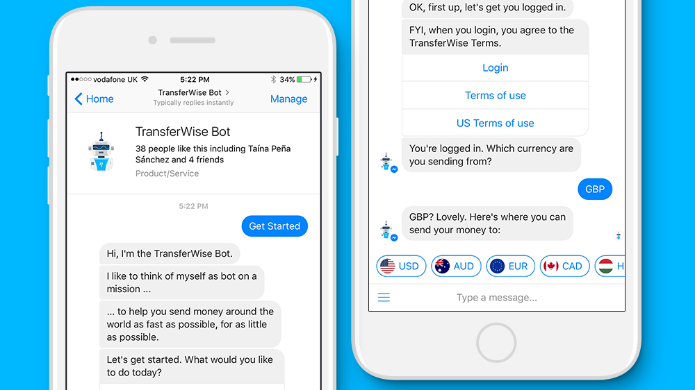 Facebook Advancing Payments on Messenger with new TransferWise Integration   Social Media Today