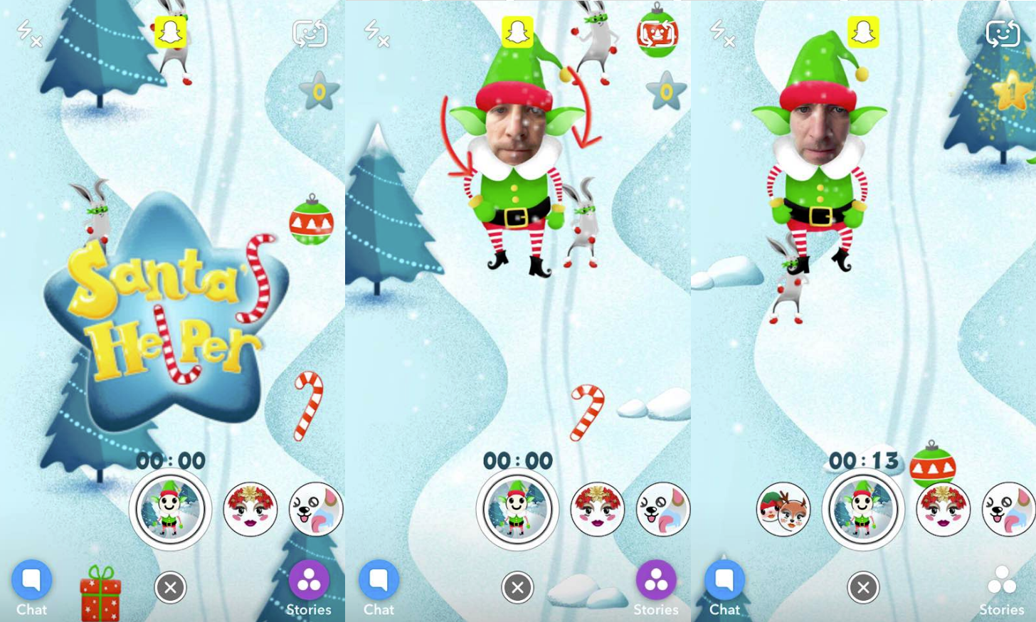 Snapchat Lens Games Could be a New Marketing Option | Social Media Today