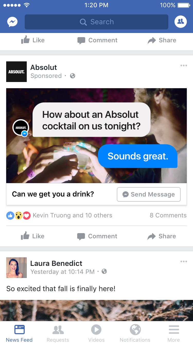 Facebook Upgrades Messenger Bot Features, Messenger Ad Options | Social Media Today