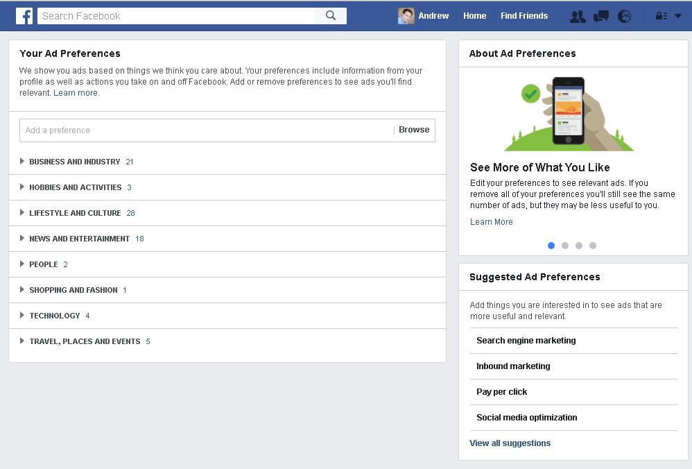 Wanna' Know What Facebook Thinks Your Interests Are? Here's How to Find Out | Social Media Today