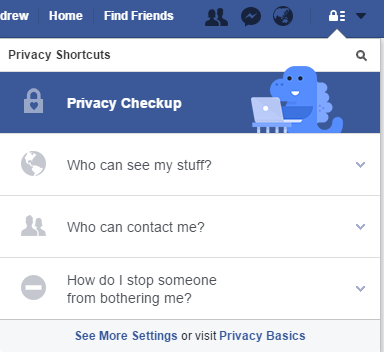 Facebook's Updated their 'Privacy Basics' Data Information Center | Social Media Today
