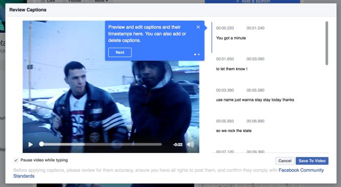 Facebook's Expanding Access to Their Automated Video Captions Tool | Social Media Today