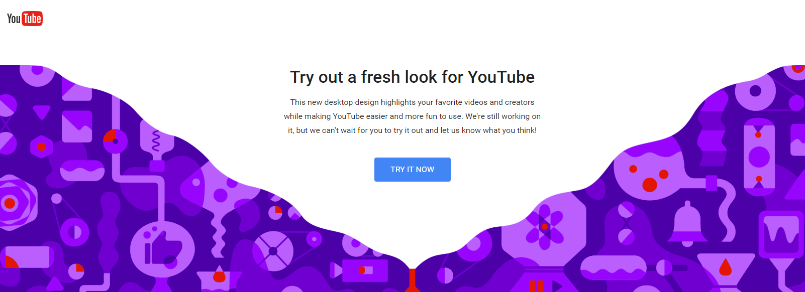 YouTube Releases New Desktop Layout, Including 'Dark Theme' | Social Media Today