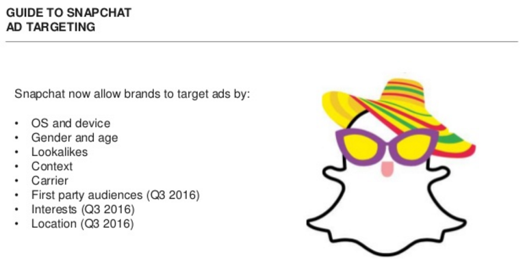Snapchat's Adding New Ad Targeting Options to Boost Revenue Potential | Social Media Today